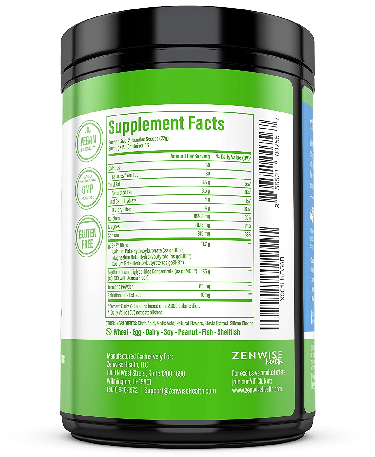 Keto BHB Salts MCT Oil Powder – Ketogenic Diet Supplement with goBHB MCT – Beta Hydroxybutyrate Exogenous Ketones C8 C10 Triglycerides – Ketosis Energy – Smooth Lime