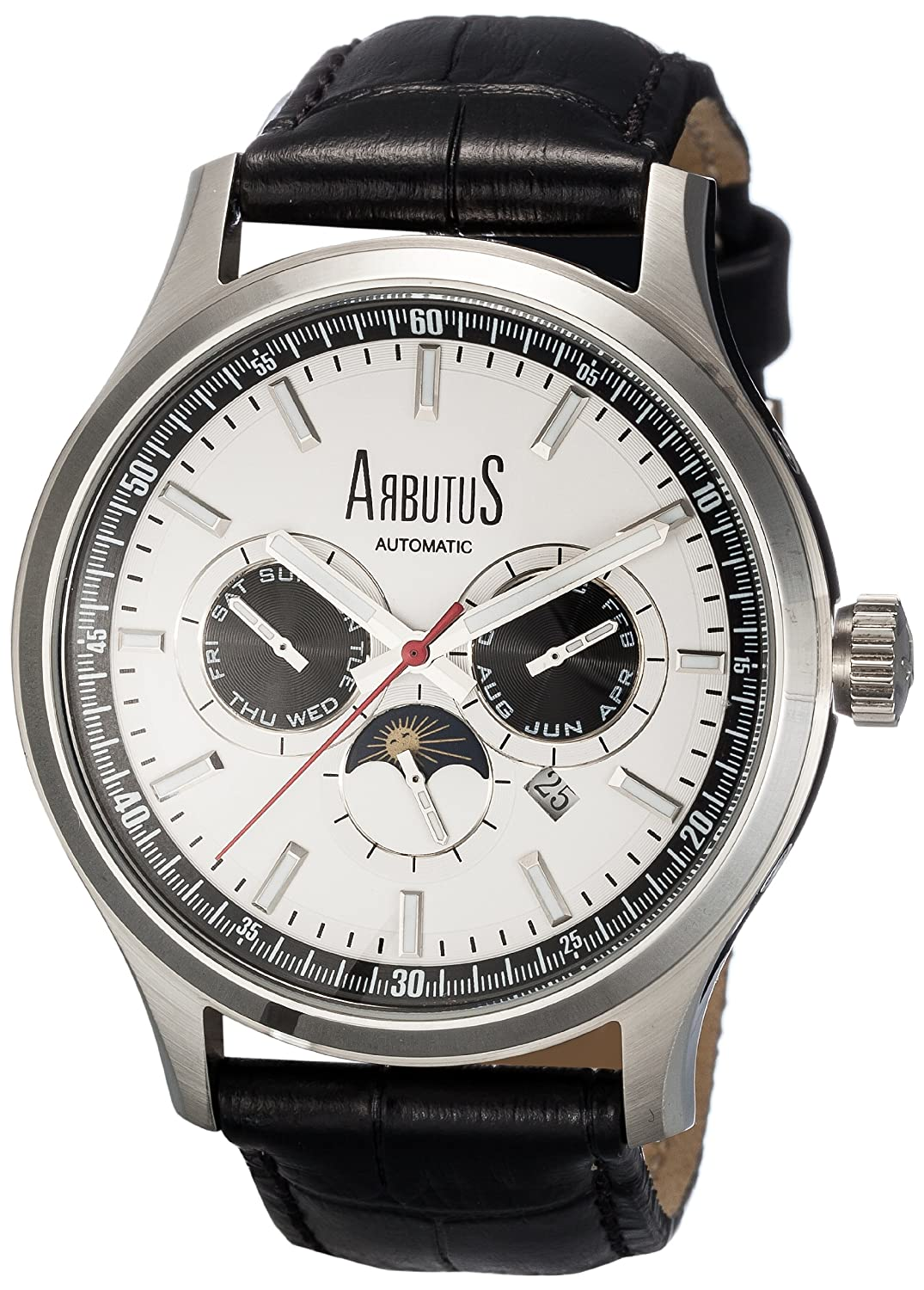 Arbutus NY – Modern Serie – Modell: AR509SWB – Automatische Uhr.