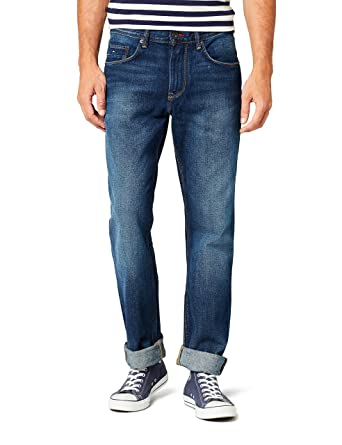 Tommy Hilfiger Herren Jeanshose Core Mercer Regular Jean  Amazon.de   Bekleidung c00a31616c