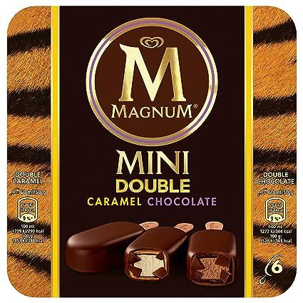 Magnum Helado Bombón Chocolate Doble Caramelo, 6 UDS 300 gr: Amazon.es: Alimentación y bebidas