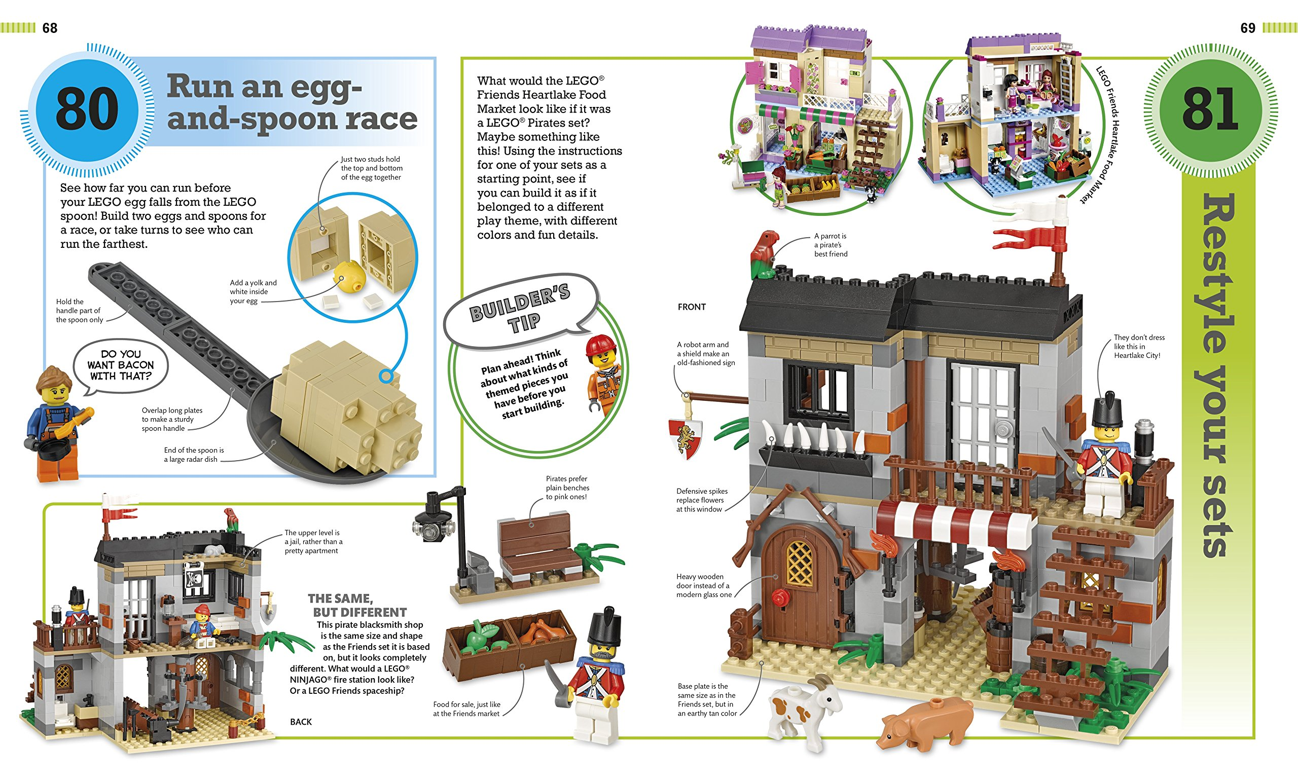 365 Things to Do with LEGO Bricks: Lego Fun Every Day of the Year by DK Publishing Dorling Kindersley (Image #5)