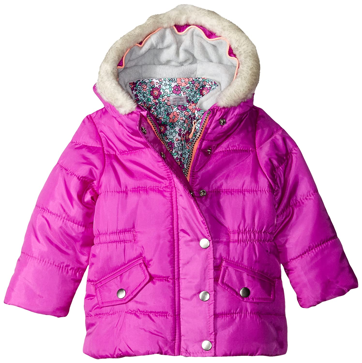 f1a93c6b0 Amazon.com  Carter s Baby Girls  Heavyweight Systems Jacket
