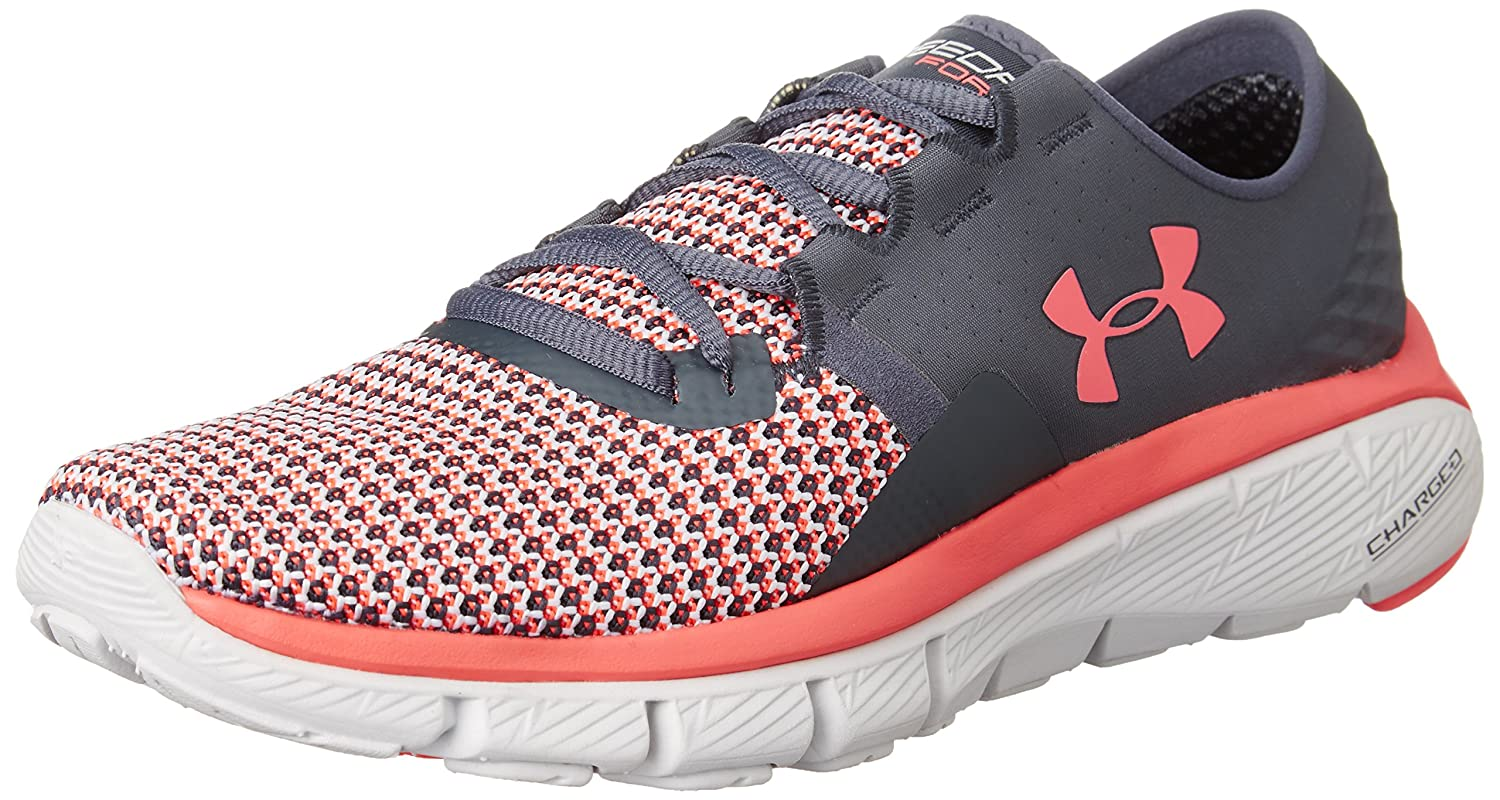 Under Armour Women's UA Speedform Fortis 2 Running Shoes B018F4BS9Y 6 B(M) US|Grey/Pink
