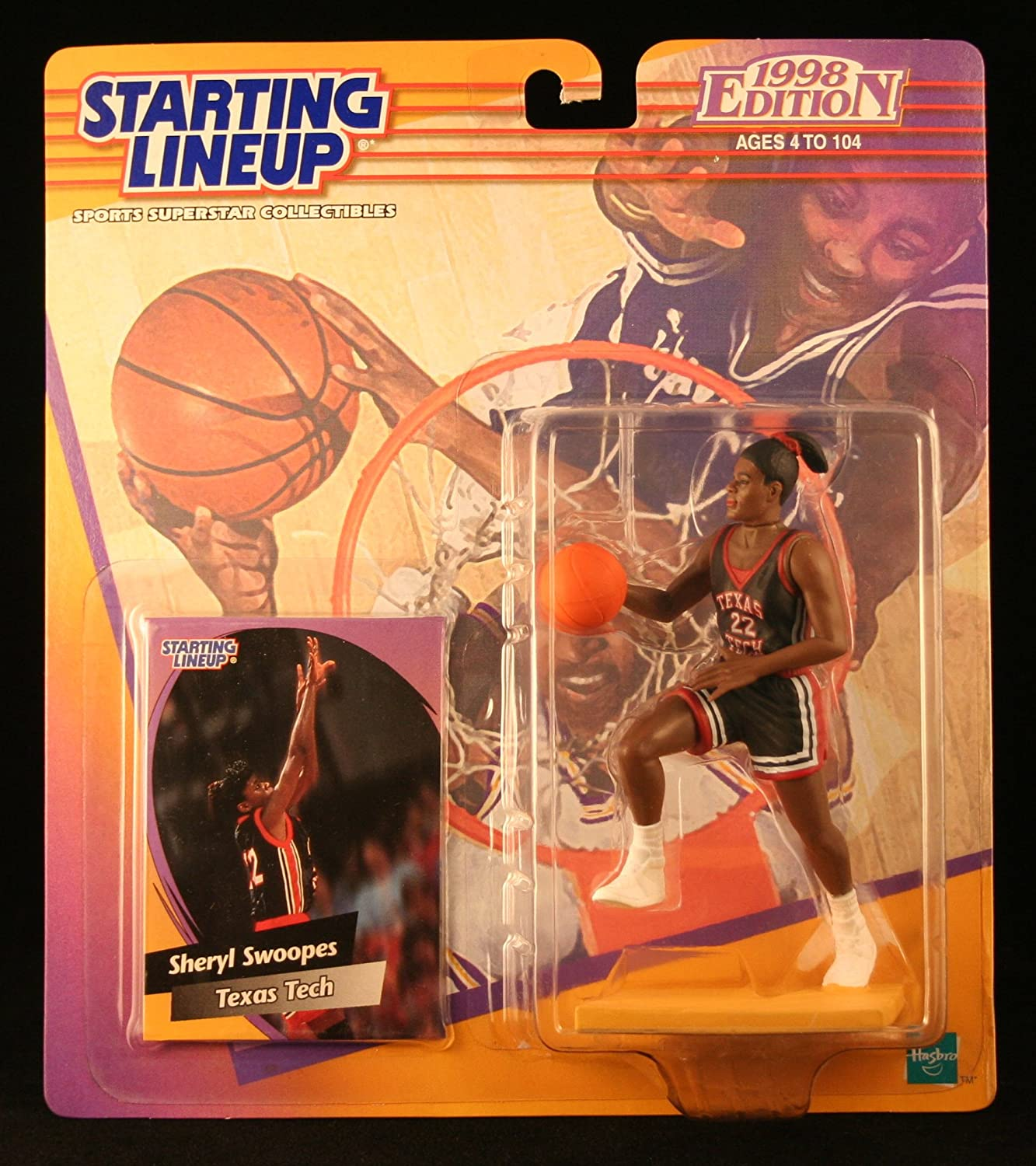 Starting Line Up Sheryl SWOOPES/Texas TECLADY Raiders 1998 Edition ...