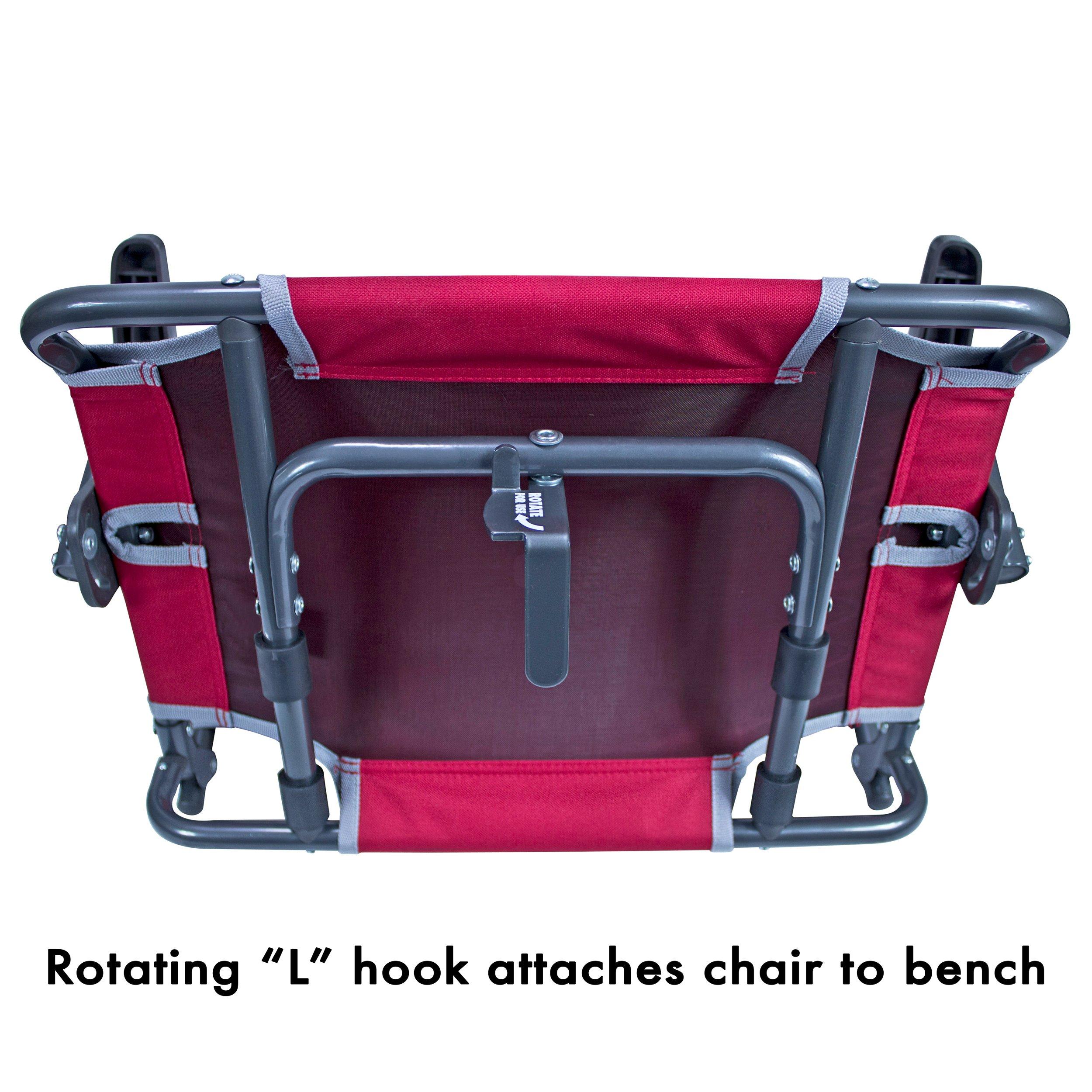 Gci Outdoor Big Comfort Wide Stadium Bleacher Seat With