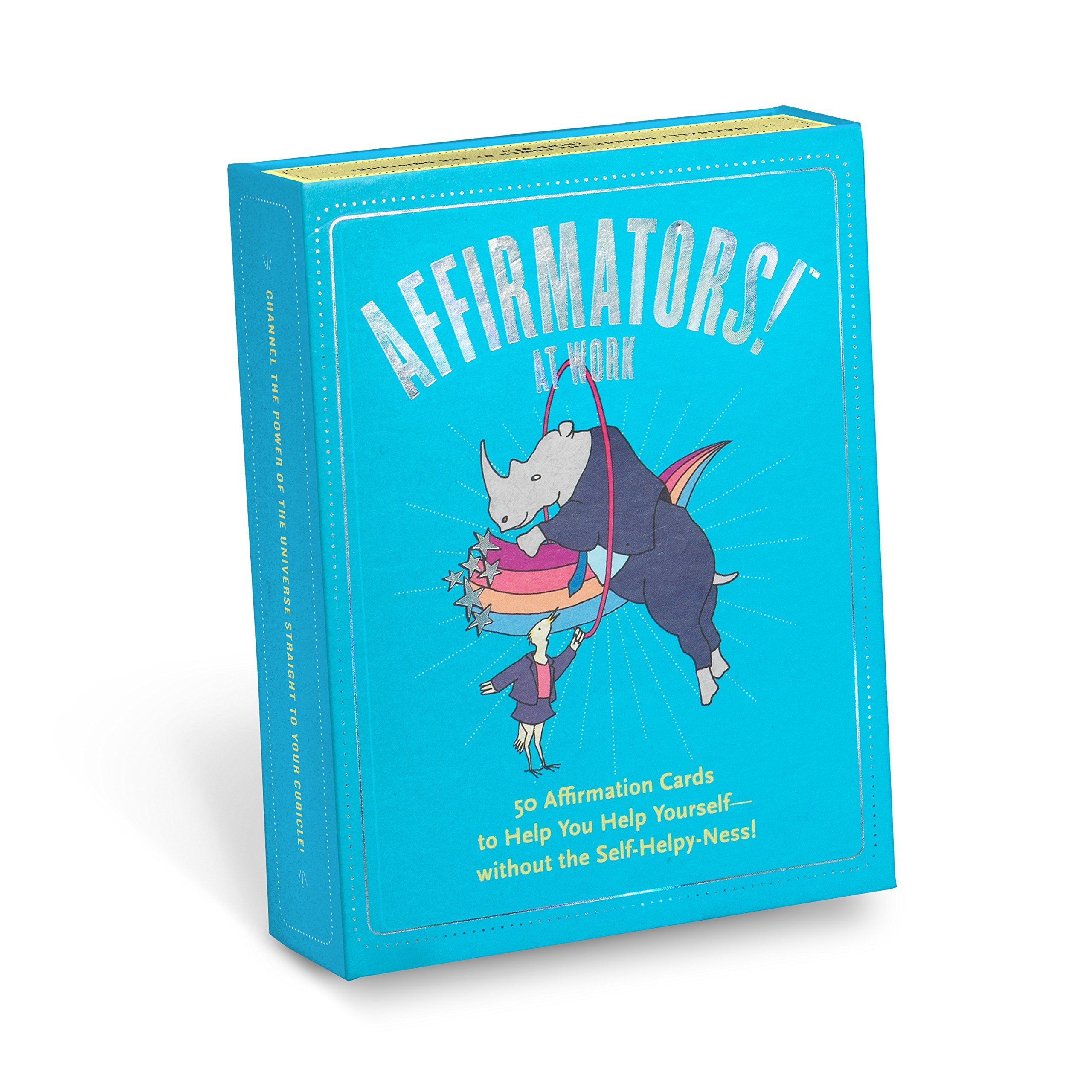 Affirmators! at Work Deck: 50 Affirmation Cards to Help You Help Yourself – Without the Self-helpy-ness!