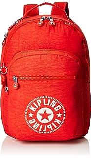 Kipling CLAS SEOUL Mochila escolar, 45 cm, 25 liters, Rojo (Active Red