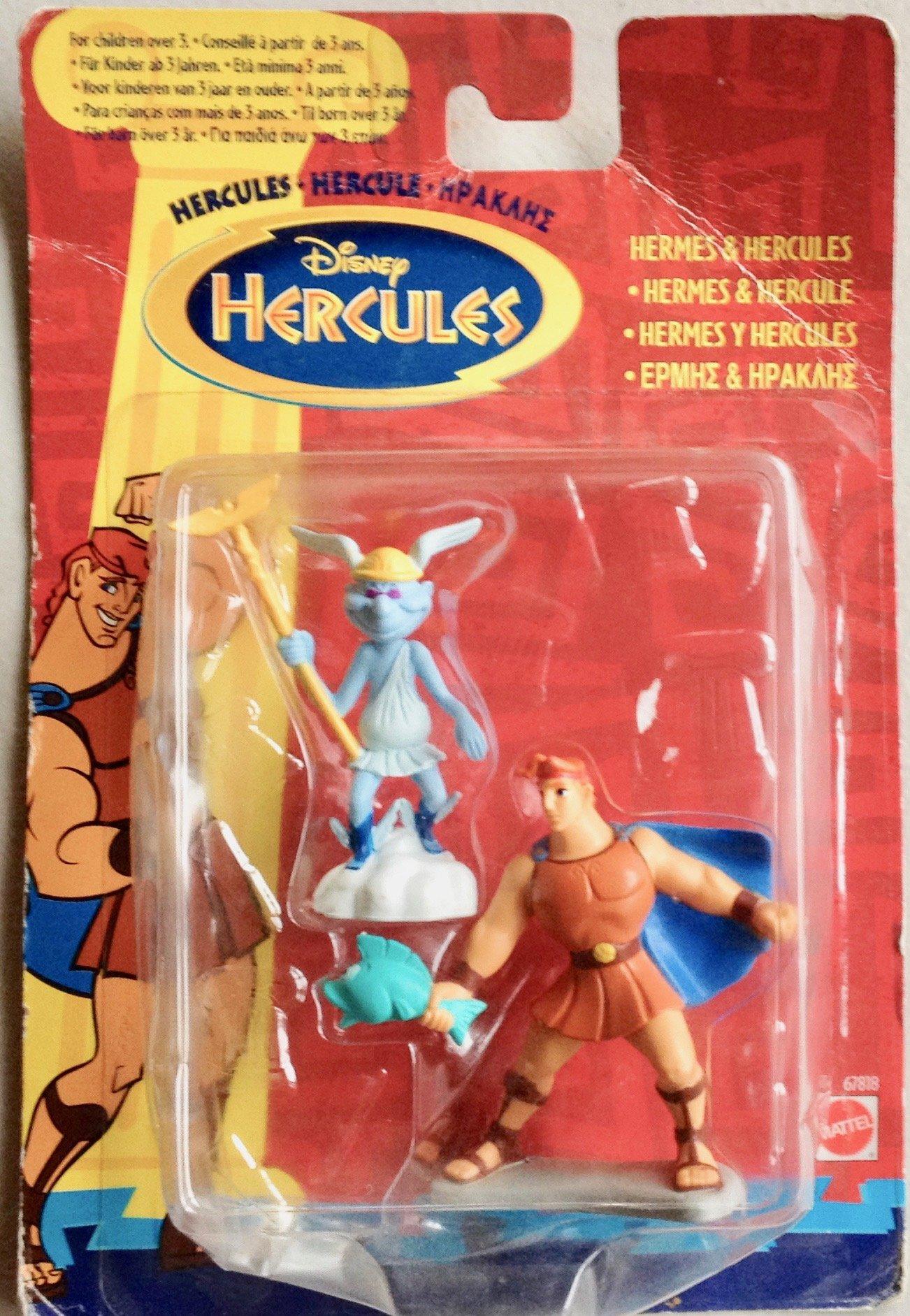 Disney's Hercules Hermes & Hercules set