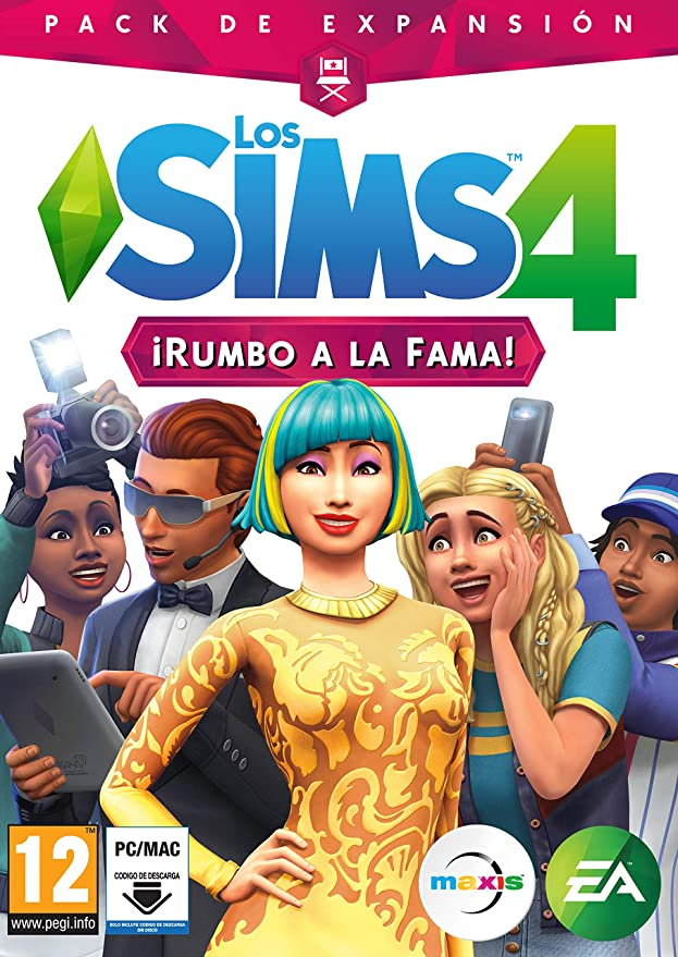 Los Sims 4 Rumbo a la Fama (La caja contiene un código de descarga ...