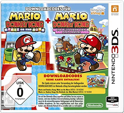 Nintendo Mario & Donkey Kong - Juego (3DS, Nintendo 3DS, Nintendo ...