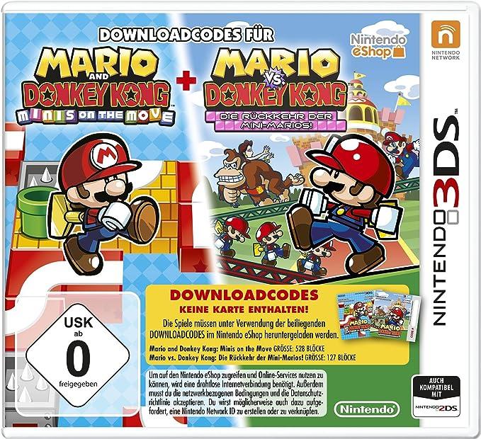 Nintendo Mario & Donkey Kong - Juego (3DS, Nintendo 3DS, Nintendo, 16.01.2015): Amazon.es: Videojuegos