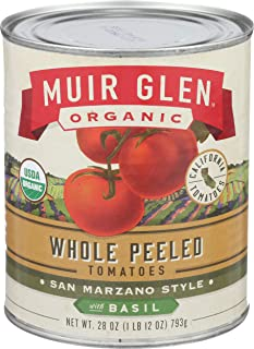 product image for Muir Glen Organic Whole Peeled Tomatoes with Basil - 28 oz