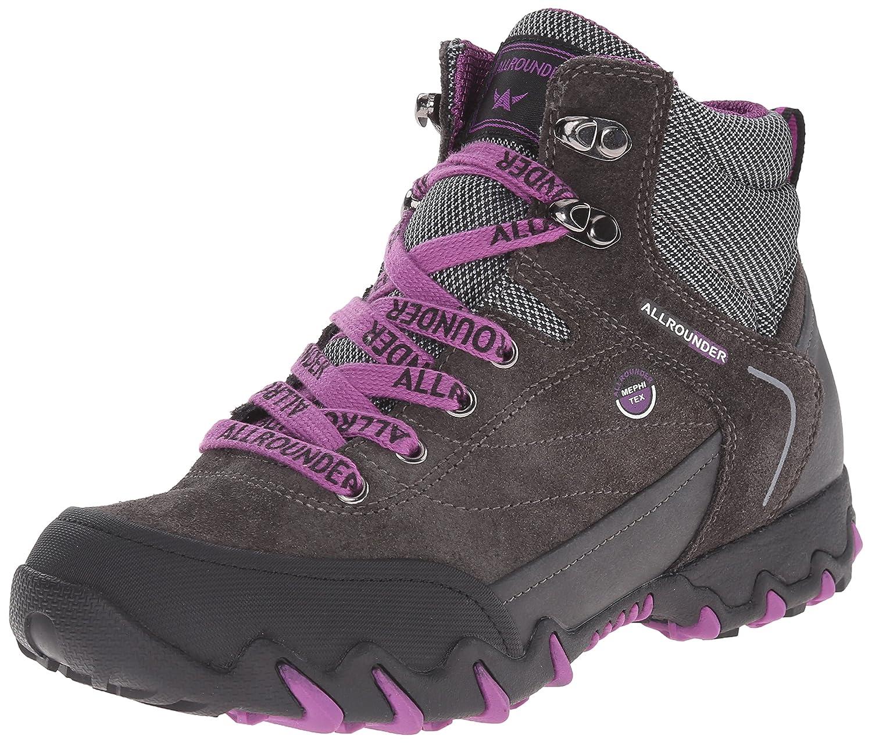 Allrounder by Mephisto Women's Nigata Tex Winter Boot B00SSXQXBG 6.5 B(M) US|Black Rubber/Graphite Suede