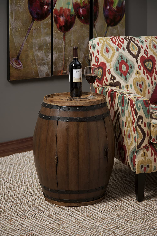 wine shop barrel recycled california oak format gallery mckenzie table