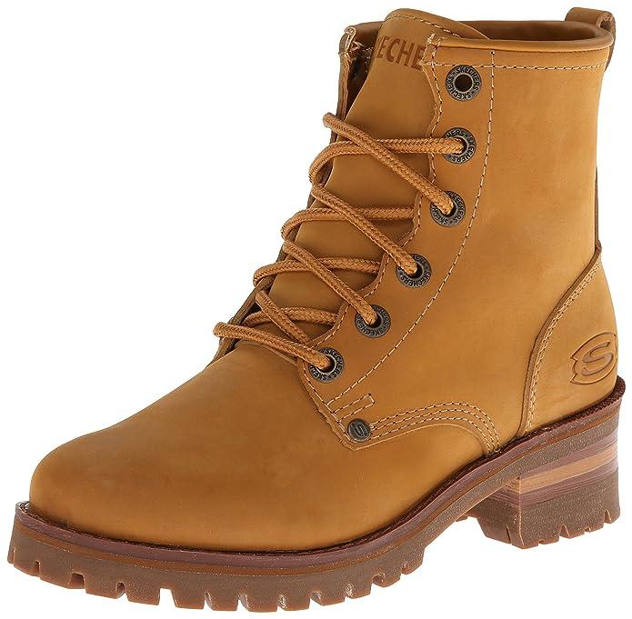 Skechers47808-47808 Mujer, Amarillo (Trigo), 5.5 B(M) US: Amazon.es: Zapatos y complementos