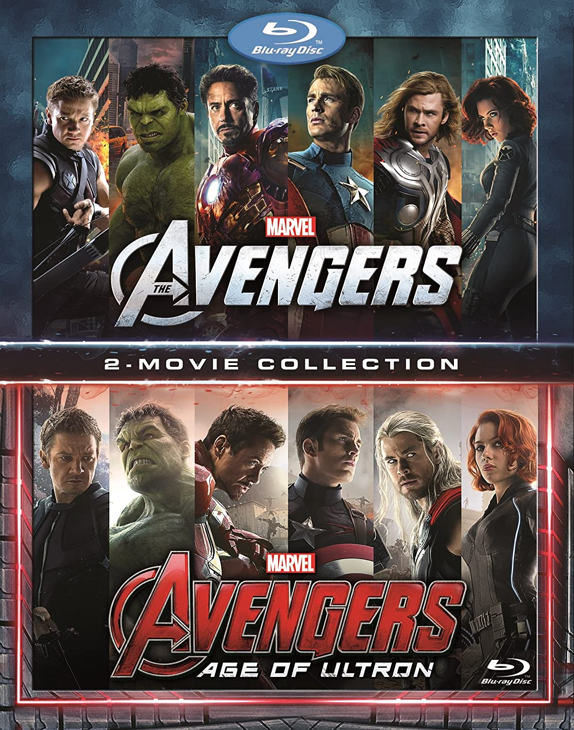 Marvels Avengers 2-Movie Collection [USA] [Blu-ray]: Amazon.es ...