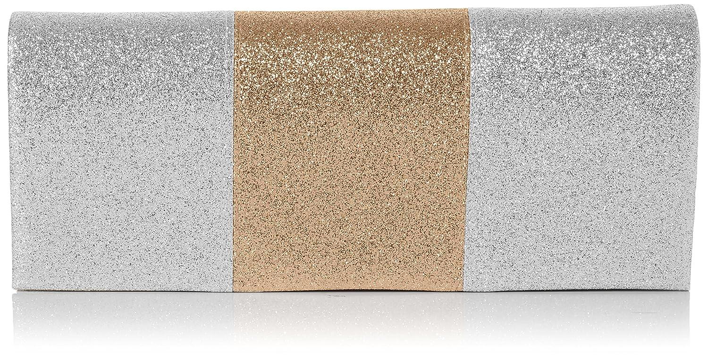 Swankyswans - Jem Sparkle Color Block, Carteras de mano Mujer, Dorado (Gold), 5x10.2x24.5 cm (W x H x L): Amazon.es: Zapatos y complementos