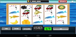 Slots Premium for Kindle Ocean Stripes by Candy Magic Games Crush