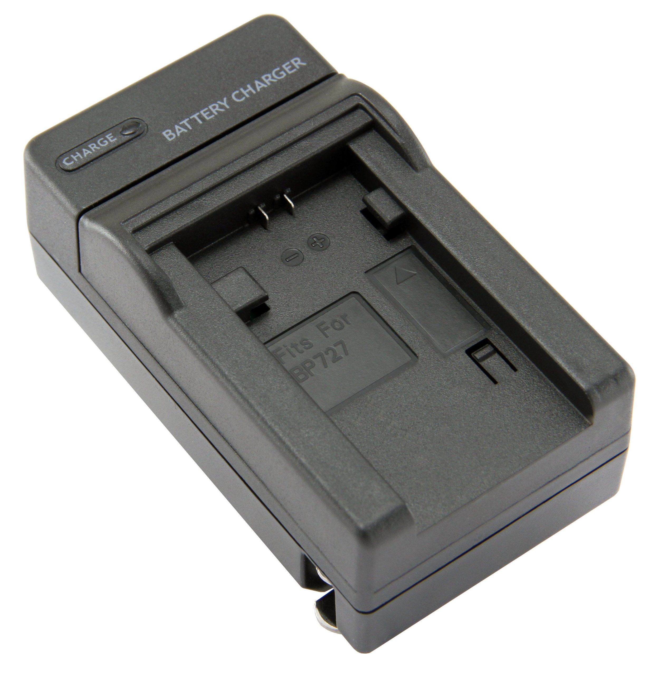 STK's Canon BP-727 Battery Charger - for BP-709, BP-718, BP-727 batteries and Canon Vixia HF R300, HF M500, HF R30, HF M52, HF R32, HF R40, HF R42, HF R400, Canon Legria HF M52, HF M56, HF M506, HF R38, HF R36, CG-700 by STK/SterliingTek