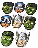American Greetings Boys Avengers Epic Masks (8 Piece)