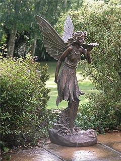 Woodland Fairy Children Figurines Set of 2 Amazoncouk Garden