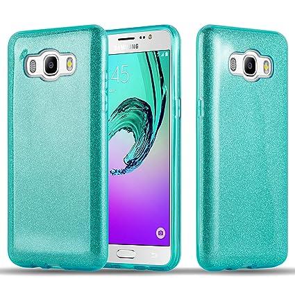 Amazon.com: Cadorabo – Lujo brillo duro de TPU para Samsung ...