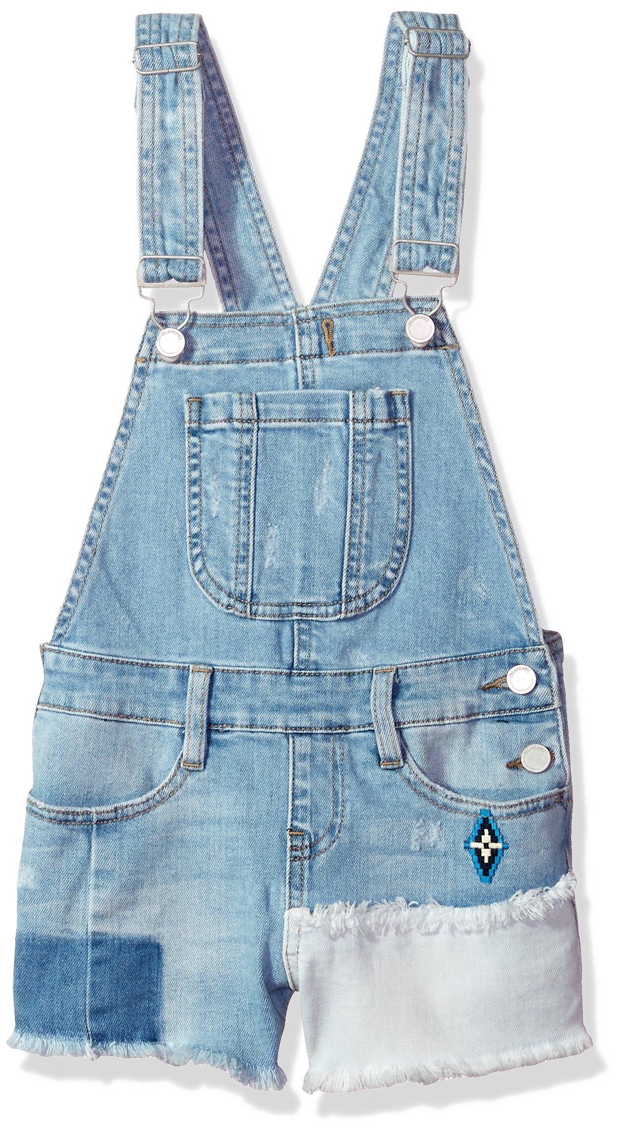 [BLANKNYC] Big Girl's Shortalls Pants, Down The Shore, 12