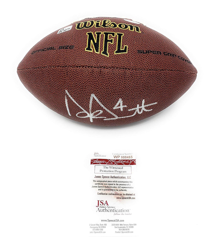 Dak Prescott Dallas Cowboys Signed Autograph NFL Football Dak Player Hologram JSA Witnessed Certified