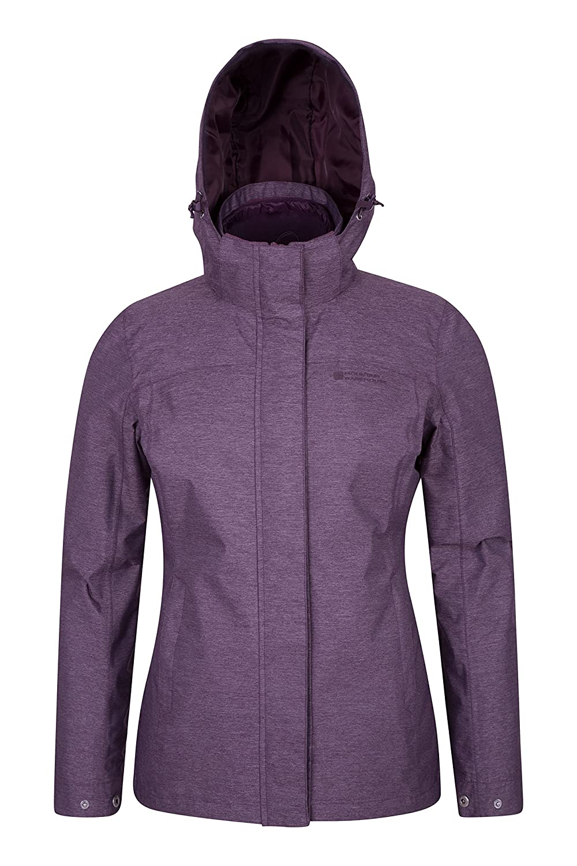 Mountain Warehouse Cedar 3-in-1 Womens Jacket -Ladies All Season Coat