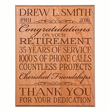 amazon com retirement gifts for men and women personalized