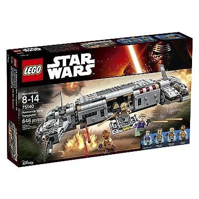 LEGO Star Wars Resistance Troop Transporter 75140: Toys & Games