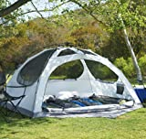 Lightspeed Outdoors Vermont 4 Person Star Gazing C&ing Tent & Amazon.com : (2) COLEMAN Hooligan 4 Person Camping Dome Tents w ...
