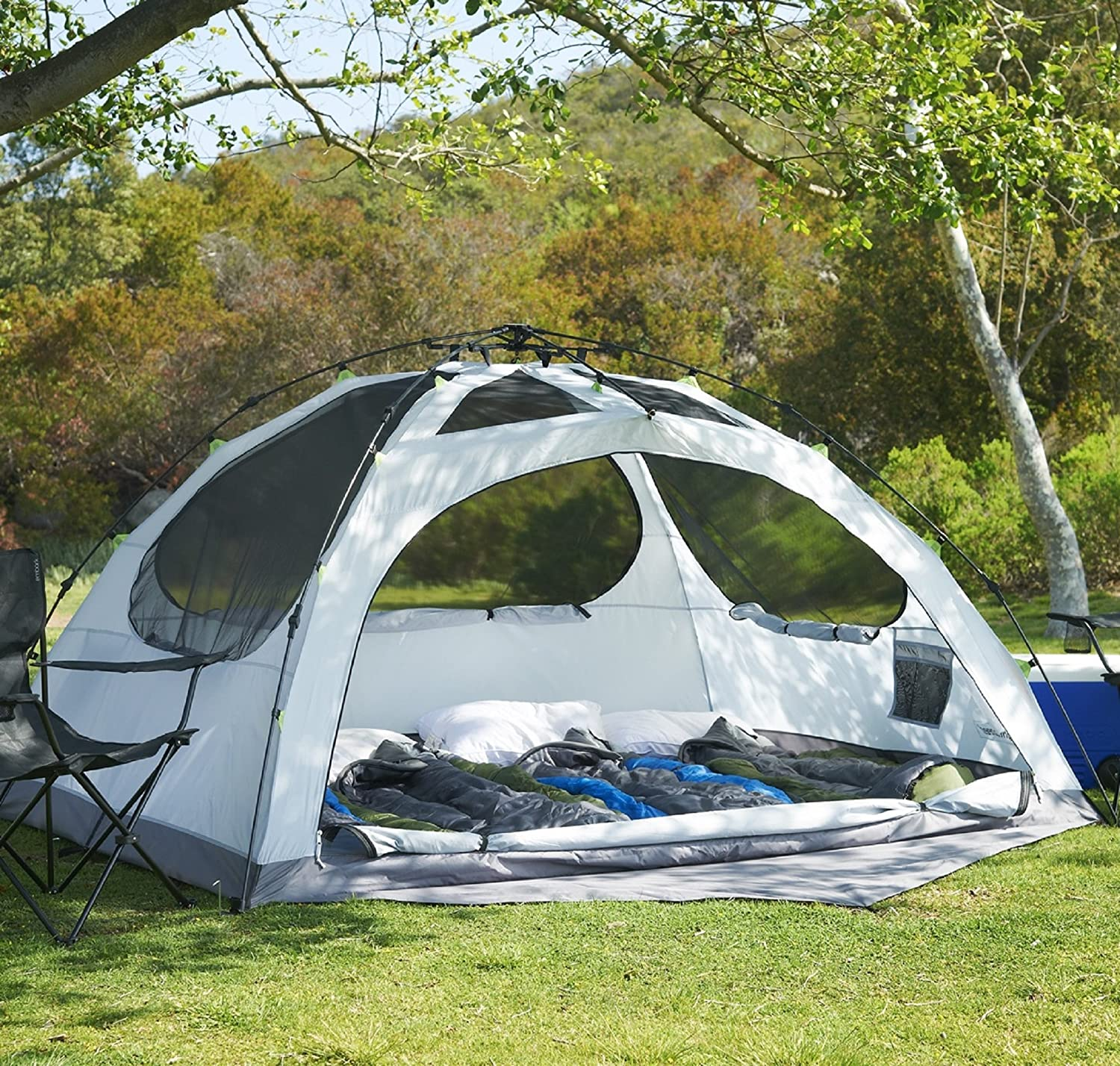 Amazon.com : Lightspeed Outdoors Vermont 4 Person Star Gazing Camping Tent  : Sports U0026 Outdoors