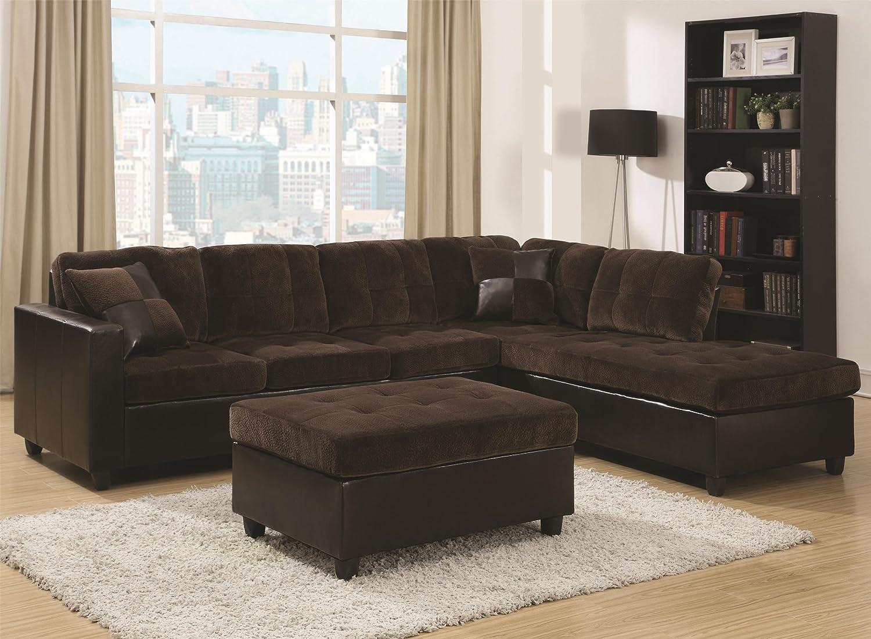 Surprising Amazon Com Coaster Home Furnishings 505645 Living Room Sofa Interior Design Ideas Tzicisoteloinfo