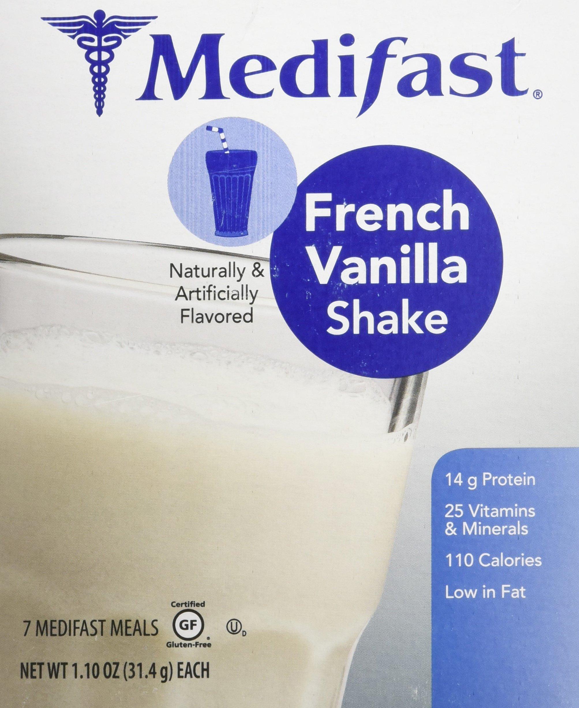 Medifast French Vanilla Shake (1 Box/7 Servings) by Medifast