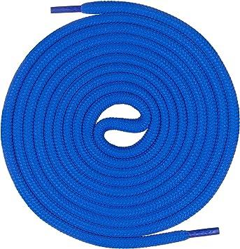 Mount Swiss runde Premium Schnürsenkel für Arbeitsschuhe Wanderschuhe und Trekkingschuhe 100% Polyester extrem reißfest ø 5 mm 12 Farben