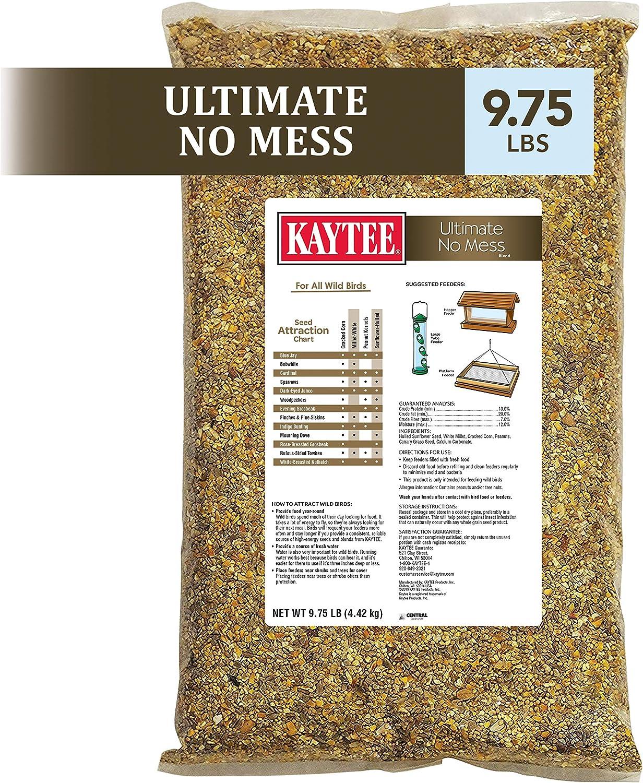 Kaytee Ultimate No Mess Wild Bird Food, 9.75 lb