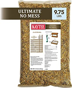 Kaytee Ultimate No Mess Wild Bird Food, 9.75 lb