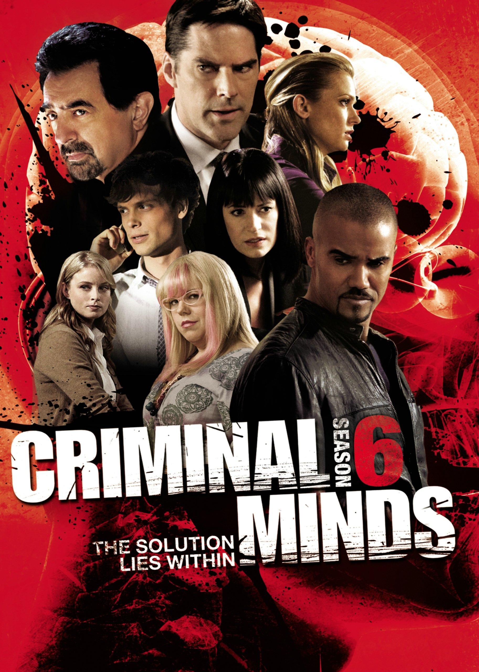 DVD : Criminal Minds: Season 6 (Widescreen, 6 Disc)