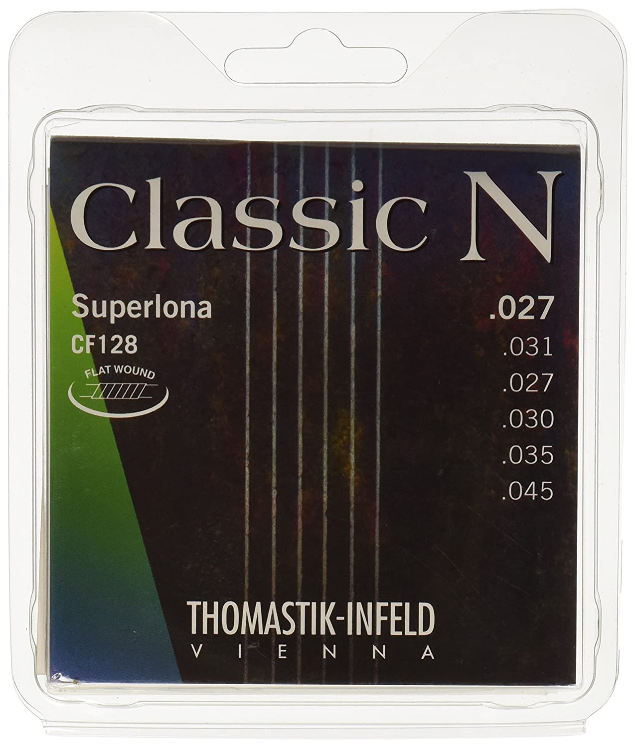 Thomastik-Infeld CF128 Classical Guitar Strings: Classic N Series 6 String Set (Wound G) E, B, G, D, A, E Set