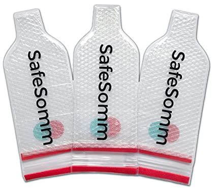 73d0e112f845 Amazon.com | Wine Bottle Protector | 3 Pack | Reusable Wine Luggage ...