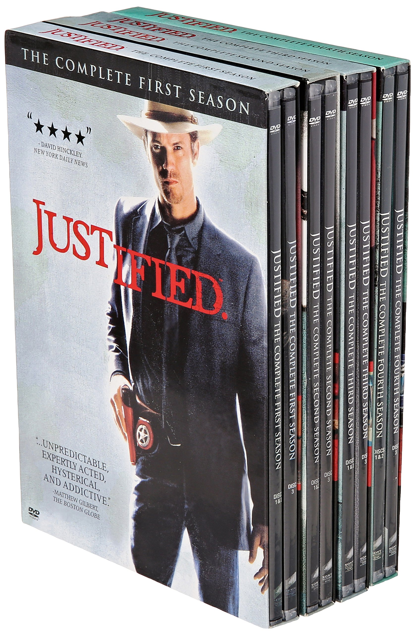 Justified: Seasons 1-4 by Sony Pictures Home Entertainment