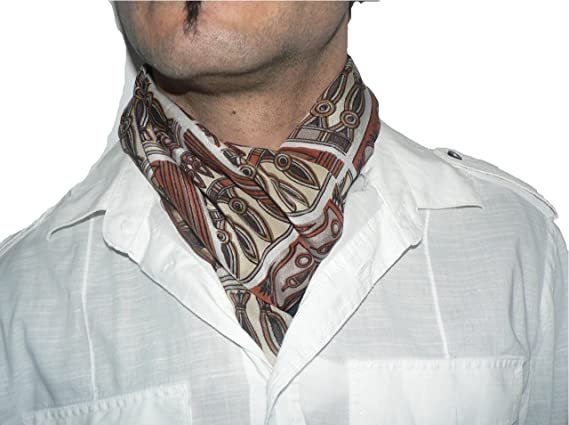 Pañuelo de seda para hombre, para atar como una bufanda o en lugar ...