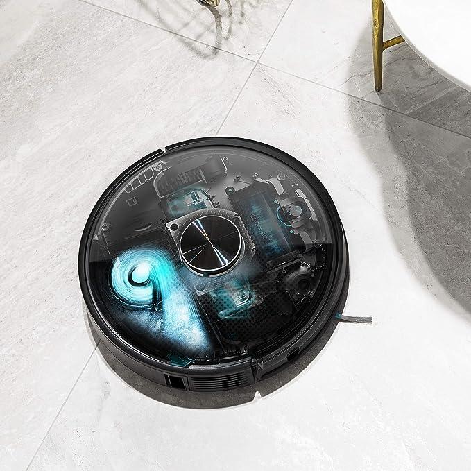Cecotec Robot Aspirador Conga 5090. App con hasta 5 mapas. Aspira, Barre, Friega y Pasa la Mopa. Alexa y Google Assistant. Cepillo Jalisco. Cepillo para Mascotas. 8000 Pa. 10 Modos. Wi-Fi: Amazon.es: Hogar