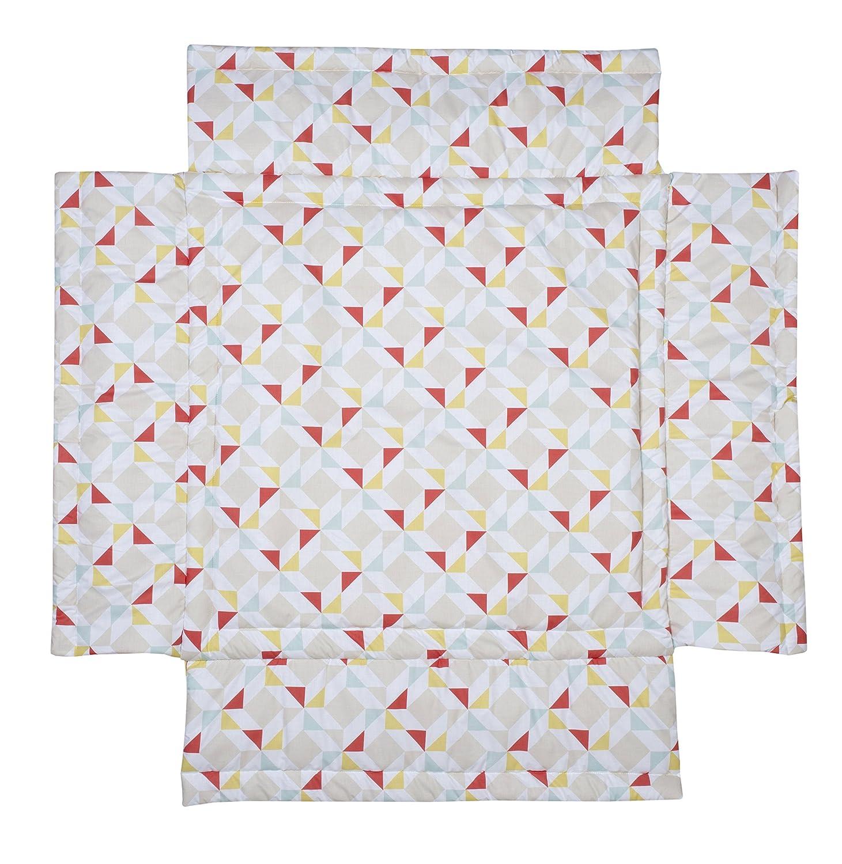 Schardt Tapis de Parc 100 x 100 cm Big Stars Beige