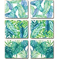 Cinnamon CMC373 Tropical Leaves Coasters