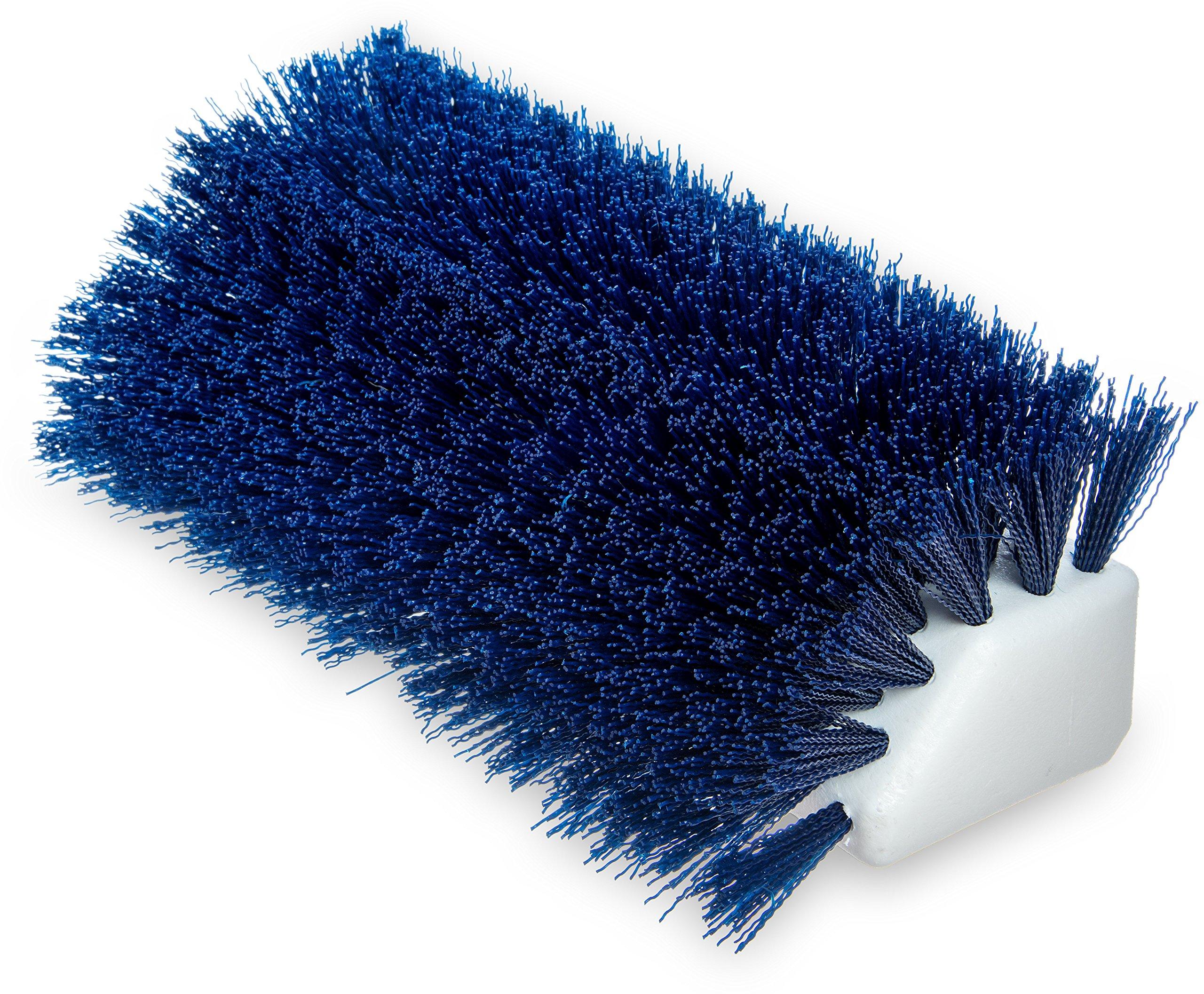 Carlisle 4042314 Hi-Lo Floor Scrub Brush, Blue (Pack of 12)