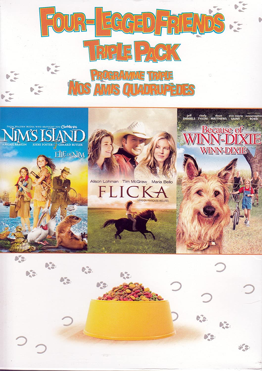 Review of winn dixie free appliances - Amazon Com Nim S Island Flicka Because Of Winn Dixie Four Legged Friends Triple Pack Abigail Breslin Jodie Foster Gerard Butler Tim Mcgraw