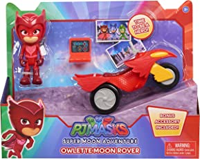 PJ Masks Super Moon Rovers Adventure Space Owlette, Red, Yellow, Black