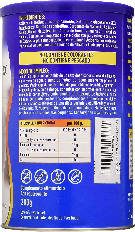 Plameca - Curarti Complex Polvo 280 g: Amazon.es: Salud y cuidado ...